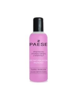 Жидкость для снятия лака PAESE