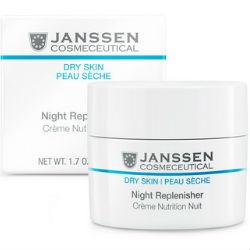 Питательный ночной регенерирующий крем  JANSSEN