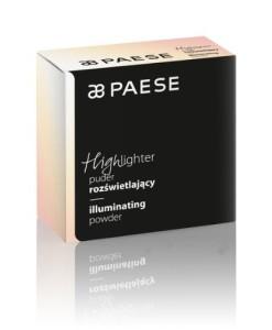 Рассыпчатая пудра с эффектом сияния Highlighter PAESE