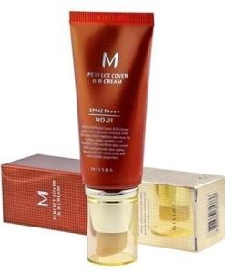 Крем с идеальным покрытием - Missha Perfect Cover BB Cream SPF42_PA