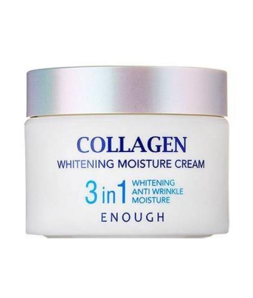 Осветляющий крем с коллагеном Enough Collagen Whitening Moisture Cream 3 in 1